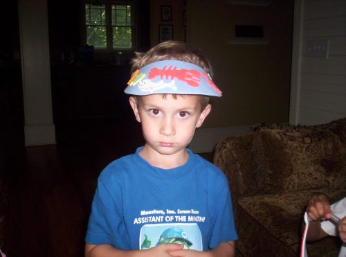 See my visor?