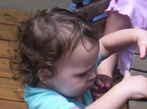 Babies like popsicles, too!