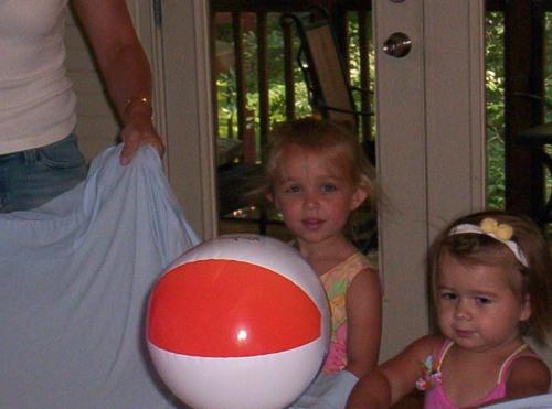 Beachball fun