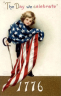 Boy with Sword and Flag