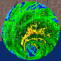 Radar shot of Katrina
