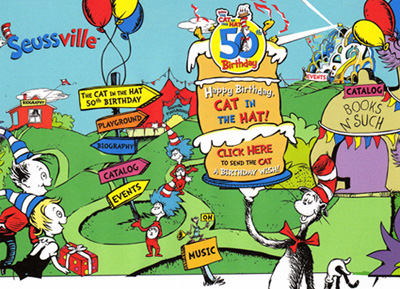 Happy Birthday to the Cat in theHat!