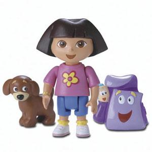 Dora the Explorer andPerrito