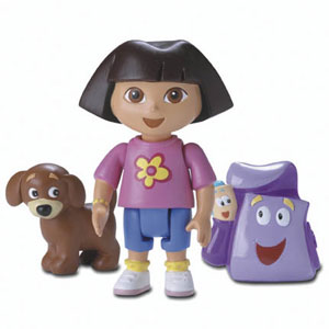 Dora the Explorer and Perrito
