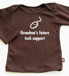 Grandma's Future Tech Support tee