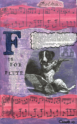 F is for Flute and Fido