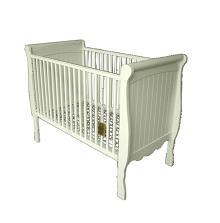 White Jardine Crib