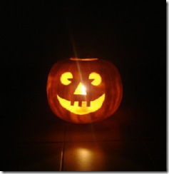 Laughing Halloween Jack-o-lantern