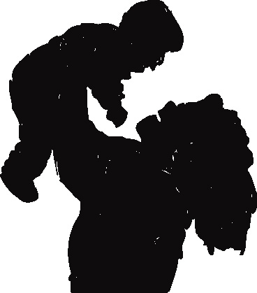 mother-child-silhouette-cli